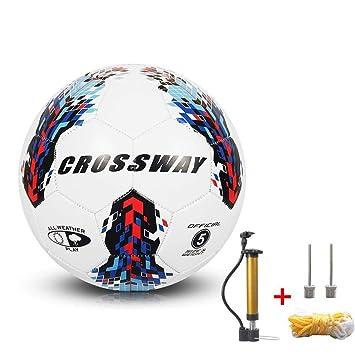 Free Knight - Balón de fútbol (Poliuretano, Antideslizante), Azul ...