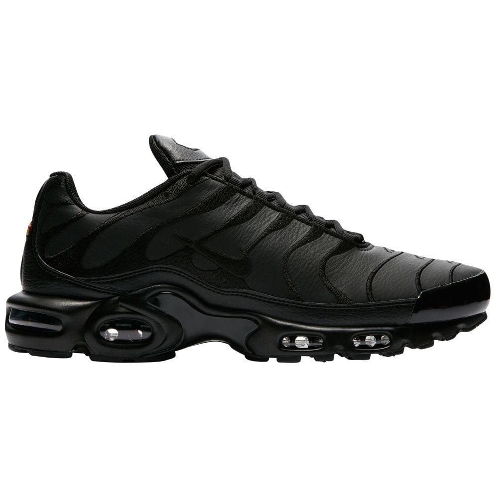 san francisco db9bf 12580 Nike Air Max Plus Mens Aj2029-001 Size 10.5 BlackBlack-Black