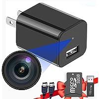 Built-in 32G Micro SD Card Buloge Mini Spy Hidden Cameras,Full HD 1080P Video,Micro Nanny Cam,Tiny Secret Surveillance…