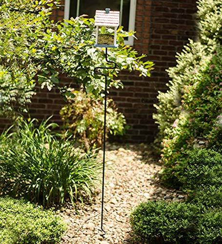 Auger Birdhouse Bird Feeder Pole Stand by Garden Auger Technologies (Image #1)