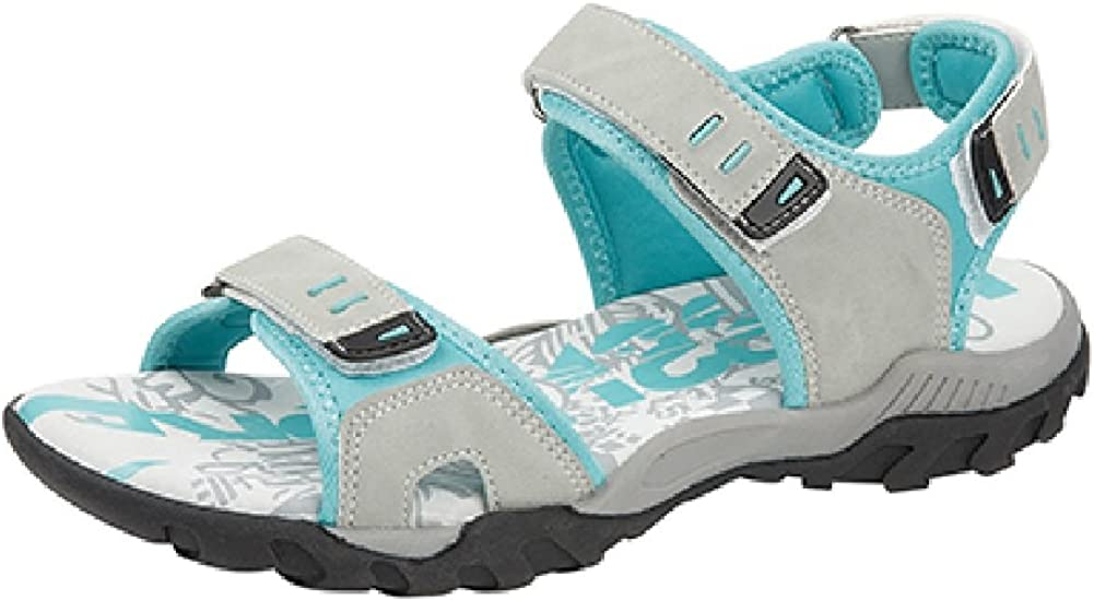WOMENS SPORTS WALKING HIKING TOUCH FASTNING FLAT COMFORT SANDALS SIZE 4-8 UK