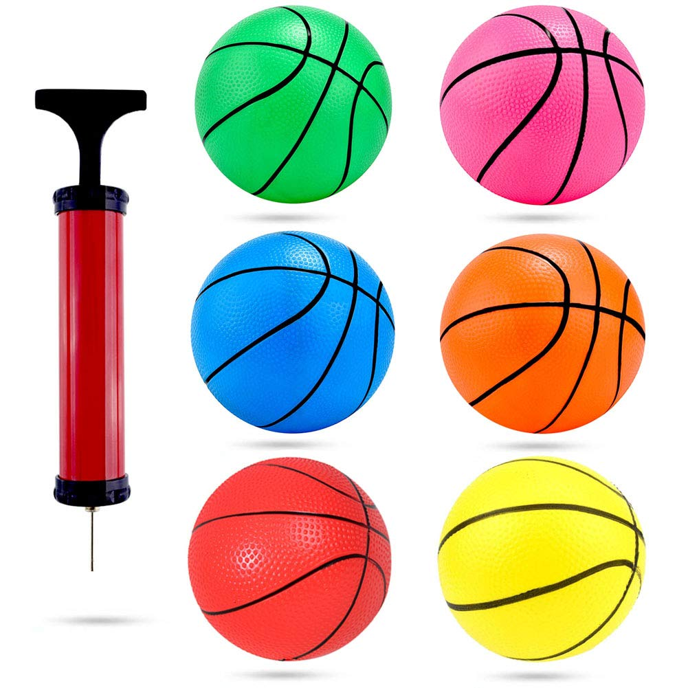 Rubber balls with pump