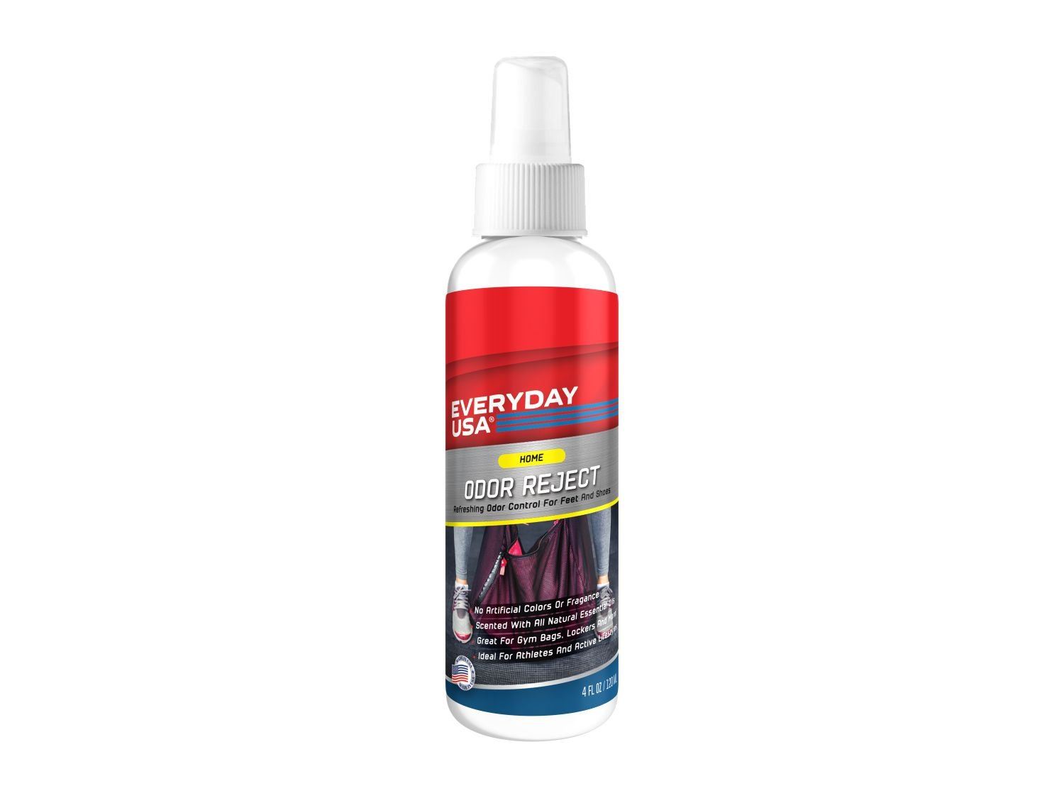 Odor Reject Foot and Shoe Spray by EverydayUSA (118 ml) Everyday USA
