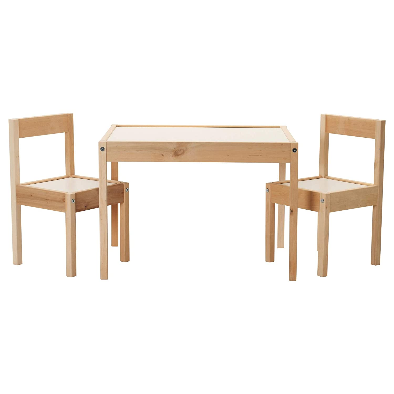 IKEA LATT Conjunto de mesa para niños con 2 sillas: Amazon.es: Bebé