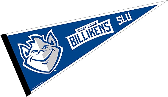 Saint Louis University Pennant Full Size Felt College Flags and Banners Co