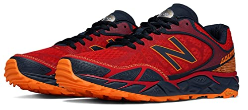 New Balance Hombre Leadville v3 Trail Running Shoe, Red/Black, 41.5 EE-Extra Wide EU: Amazon.es: Zapatos y complementos