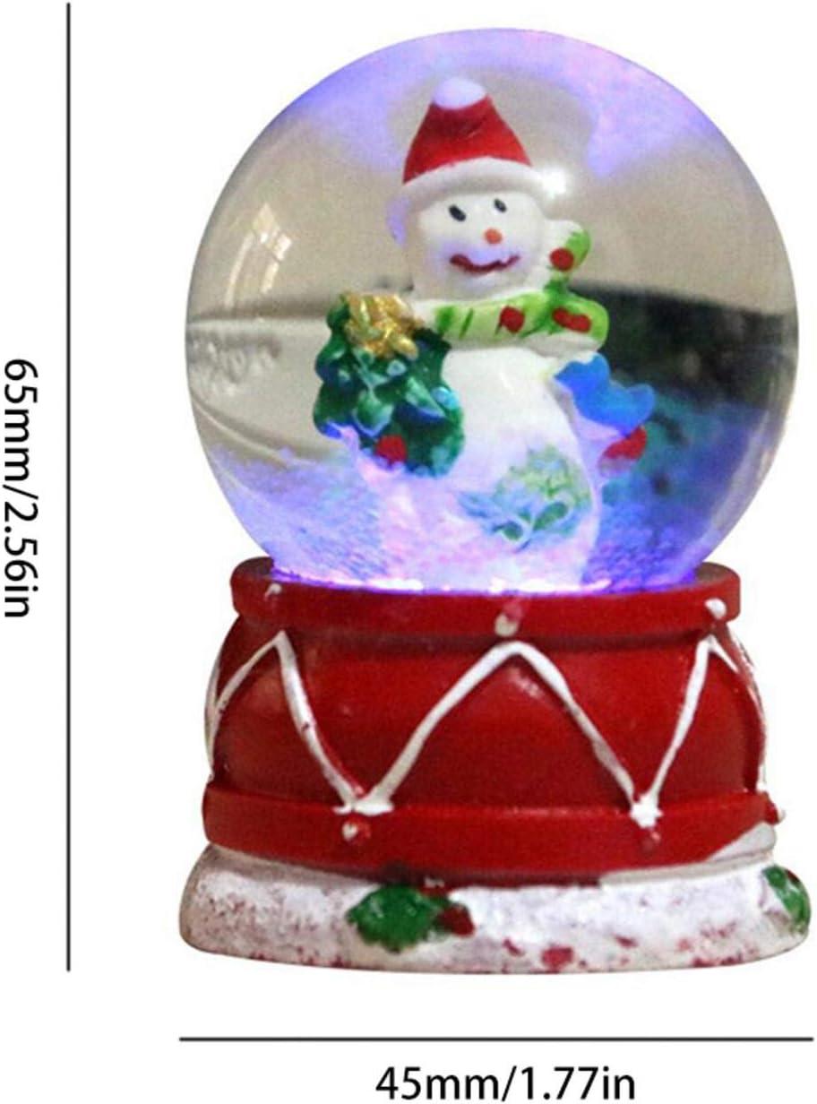 random Style1 TIANLIANG Christmas Snow Globe Luminous Christmas Glitter Dome For Kids Gift Home Decor Christmas Snow Globe Lantern