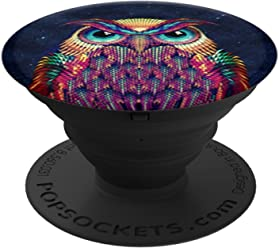 b1ac73559d7f9e PopSockets  Collapsible Grip   Stand for Phones and Tablets - Owl
