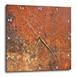 3dRose Old Rust – Wall Clock, 13 by 13-Inch (dpp_101743_2)