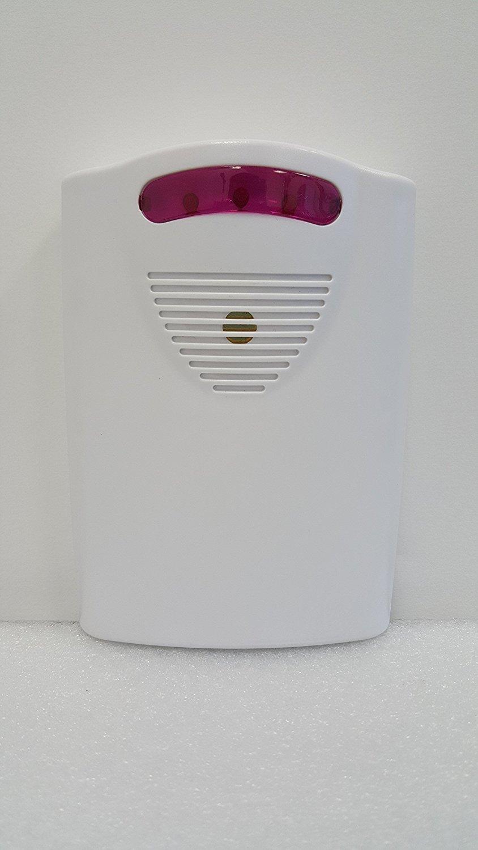 maxworks 70899 inalámbrico Long Range sensor de movimiento de seguridad con base de casa alta/baja Indicador de timbre volumen 3: Amazon.es: Bricolaje y ...