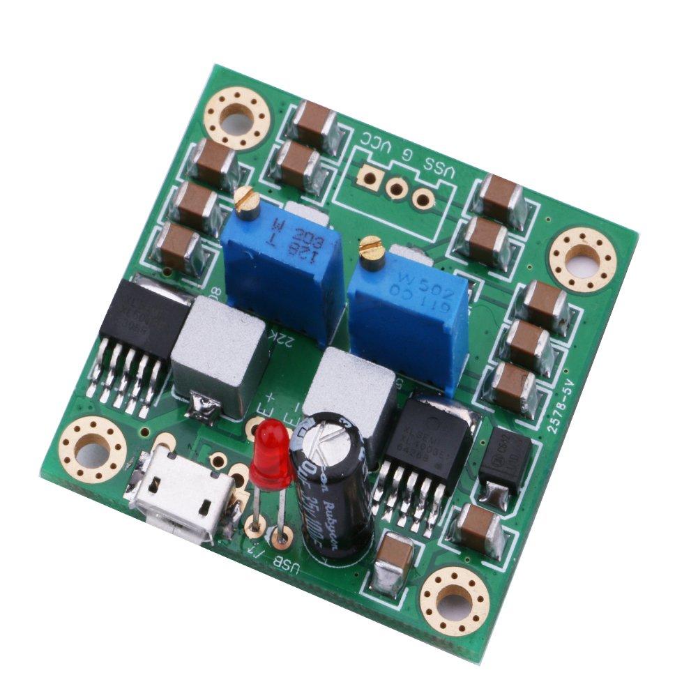 DC Boost Converter Yeeco 150W 8A DC-DC Step Up Converter Board 8-32V 12V 24V to 9-46V Voltage Regulator Booster Module Adjustable Voltage Step Up Power Supply Module