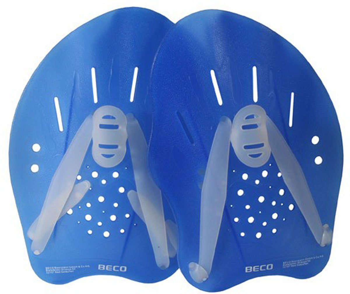 Beco Dynamic Pro Swim Paddles Pool Swimming Aquatic Fitness Gloves Medium