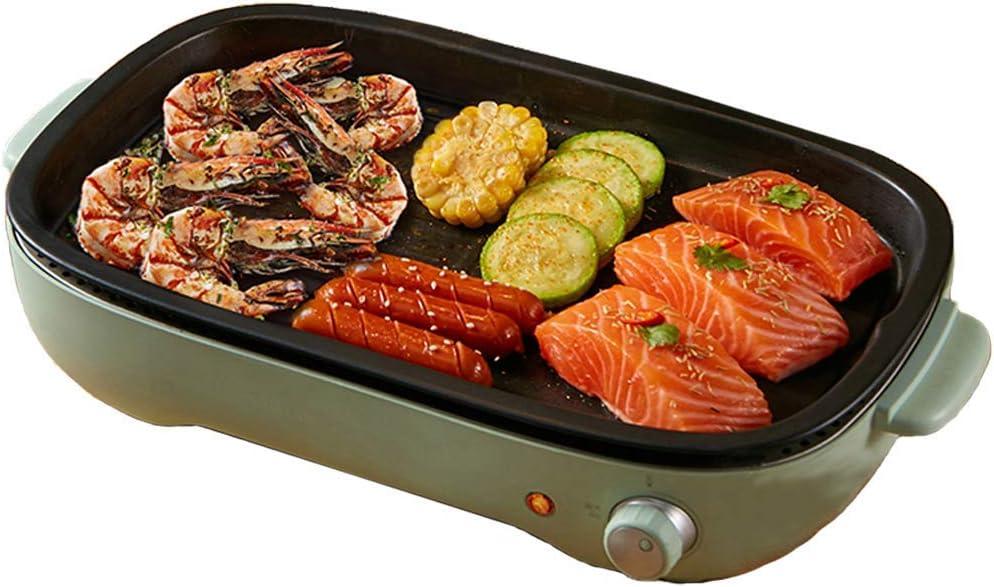 Kyman Grill électrique intérieur Smokeless Barbecue