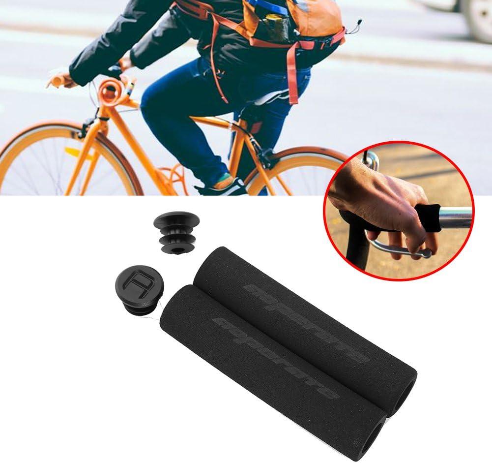 1 Pair Mountain Bike Bicycle Cycling Foam Sponge Soft Handlebar Grips Anti-slip