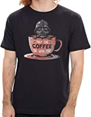 Camiseta May the Coffee - Masculina