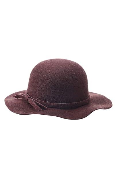 Gorros Mujeres Bowknot Bowler Bucket Hat Moda Gap Elegante Vestido Gorros Especial Estilo Gorros (Color : Brown, Size : One Size): Amazon.es: Ropa y ...