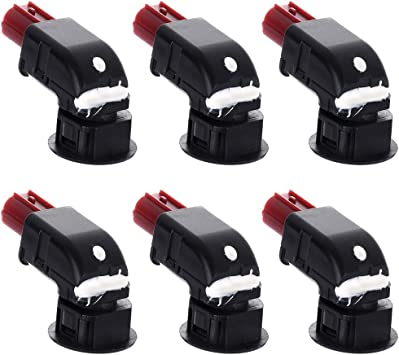 Bumper Backup Sensor,OCPTY Parking Assist Sensor OEM Reverse Sensor 39680-SHJ-A61 fit for 2004 2005 2006 2007 2008 2009 2010 2011 2012 2013 Honda CR-V,2005 2006 2007 2008 2009 Honda Odyssey,Park of 4