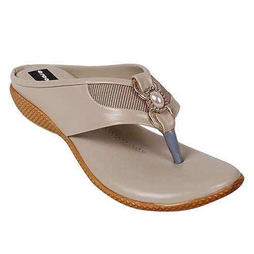 a578883eb285bc Aroom Women Bohemian Glitter Summer Flat Sandals T Strap Open Toe Ankle  Strap Cage Cutout Flat Sandal Minimalist Ankle Wrap Comfort Flat Sandal  Stylish Open ...