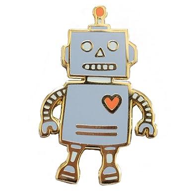 Mr  Robot | Honey & Brie Design Lapel Pin | Hard Enamel | Robot Pin