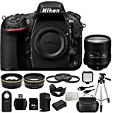 Nikon D810 FX-format Digital SLR Camera Body - International Version (No Warranty) with Nikon 24-85mm f/3.5-4.5G ED VR AF-S Nikkor Lens + 64GB Bundle 16PC Accessory Kit.