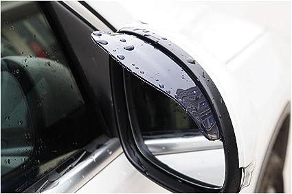 2 pcs/lot Universal Rear View Side Mirror Rain Board Sun Visor Shade Shield  For Car & SUV