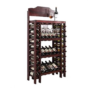 Decoración de estantes para vinos Creativo Moderno Moderno Minimalista Estante para botellas de vino Sala de ...