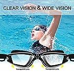 Occhiali-da-Nuoto-Occhialini-Nuoto-a-specchio-anti-appannamento-anti-UV-GRATIS-Cuffia-da-Nuoto-Clip-per-Naso-Tappi-per-Orecchie-per-Donne-Uomini-Adulti-Adolescenti-e-Bambino