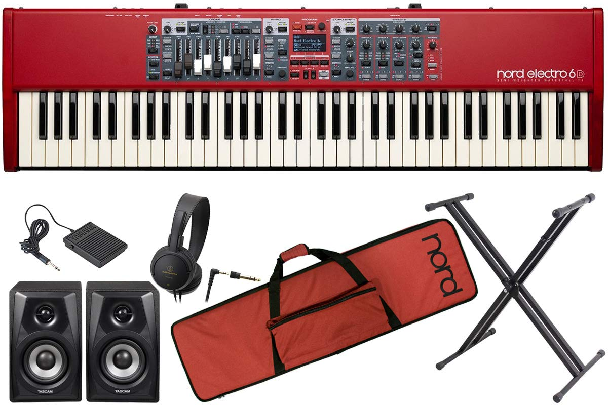 Clavia クラヴィア/nord electro 6D 73【オプションセット!】73鍵盤ノードエレクトロ   B07TS7F8WB