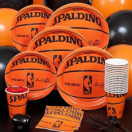 amazon com spalding basketball party pack basketball birthday