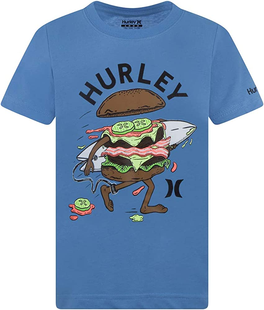 Hurley Boys Sandy Bunz Short Sleeve T-Shirt Tee Shirts