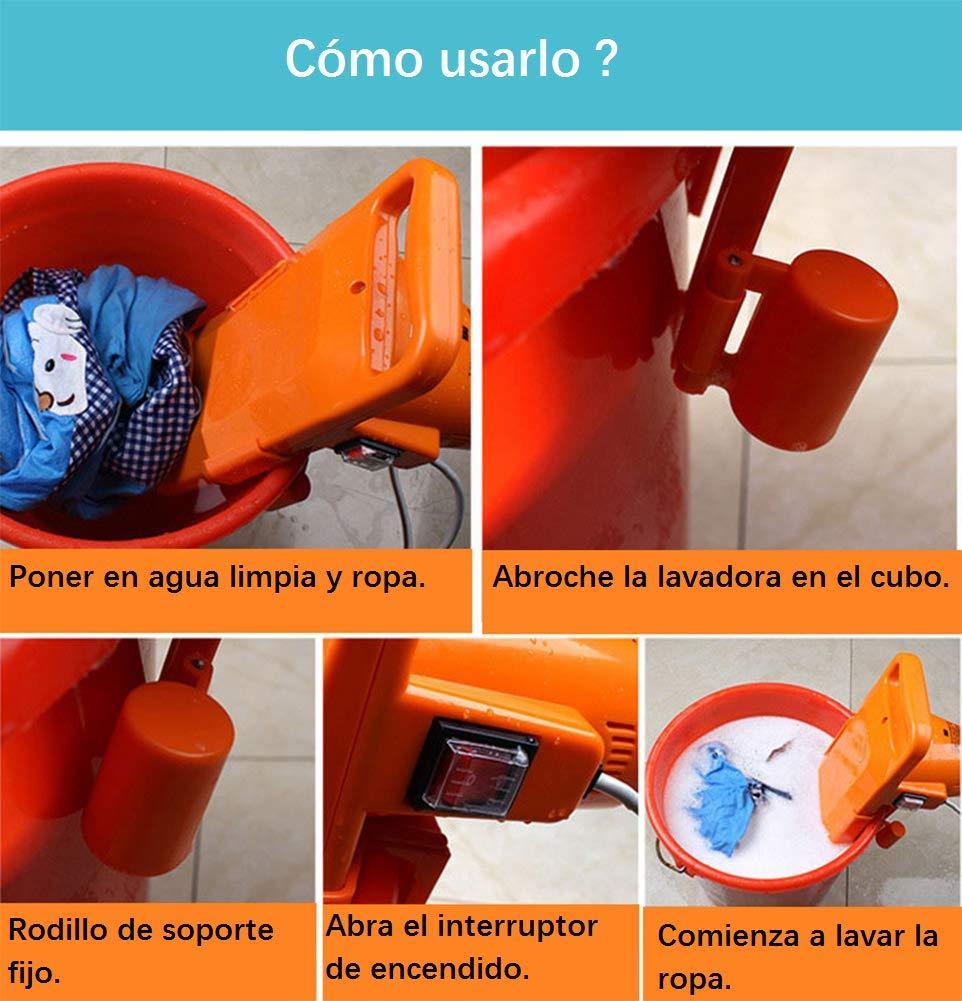 LIJUAN1 Lavadora portátil, Cubo Plegable Gratis - Lavadora ...