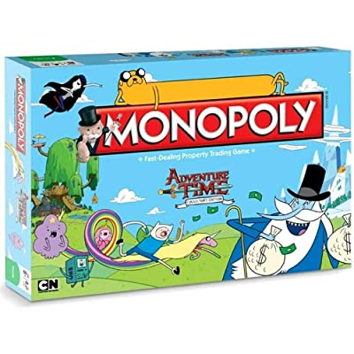 Adventure Time Monopoly: Collector's Edition: Toys & Games