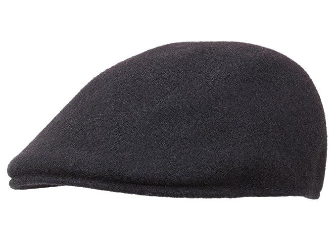 70188dca3c Kangol Men's Flat Cap Seamless Wool 507 - black: Amazon.co.uk: Clothing