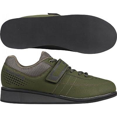 More Mile Homme Femme Plus Lift 4/d'haltérophilie Cross Fit Chaussures–Vert