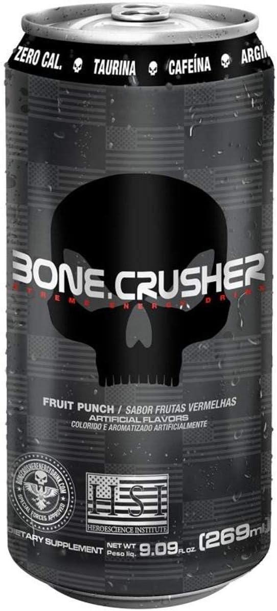 Bone Crusher Energético 269ml - Black Skull (Fruit punch) por Black Skull
