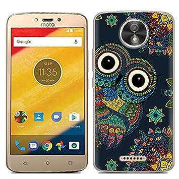 Motorola Moto C Plus Funda, FoneExpert® Carcasa Cover Case ...