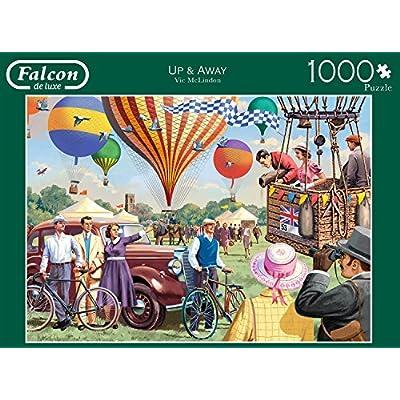 Jumbo Spiele 11189 Puzzle Da 1000 Pezzi Falcon Up Away