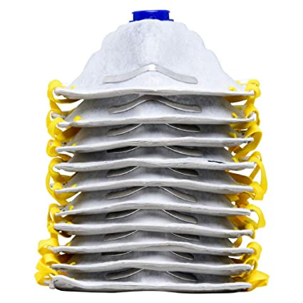 AMSTON 10pk P95 Dust Masks - NIOSH-Certified - Personal Protective  Equipment Particulate Respirators for Construction, Home Improvement, DIY  Projects
