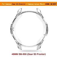 Fiveschoice 360 Degré TPU Coque pour Samsung Galaxy Watch 42MM 46MM Housse de Protection en Silicone Ultra-Mince Souple en TPU