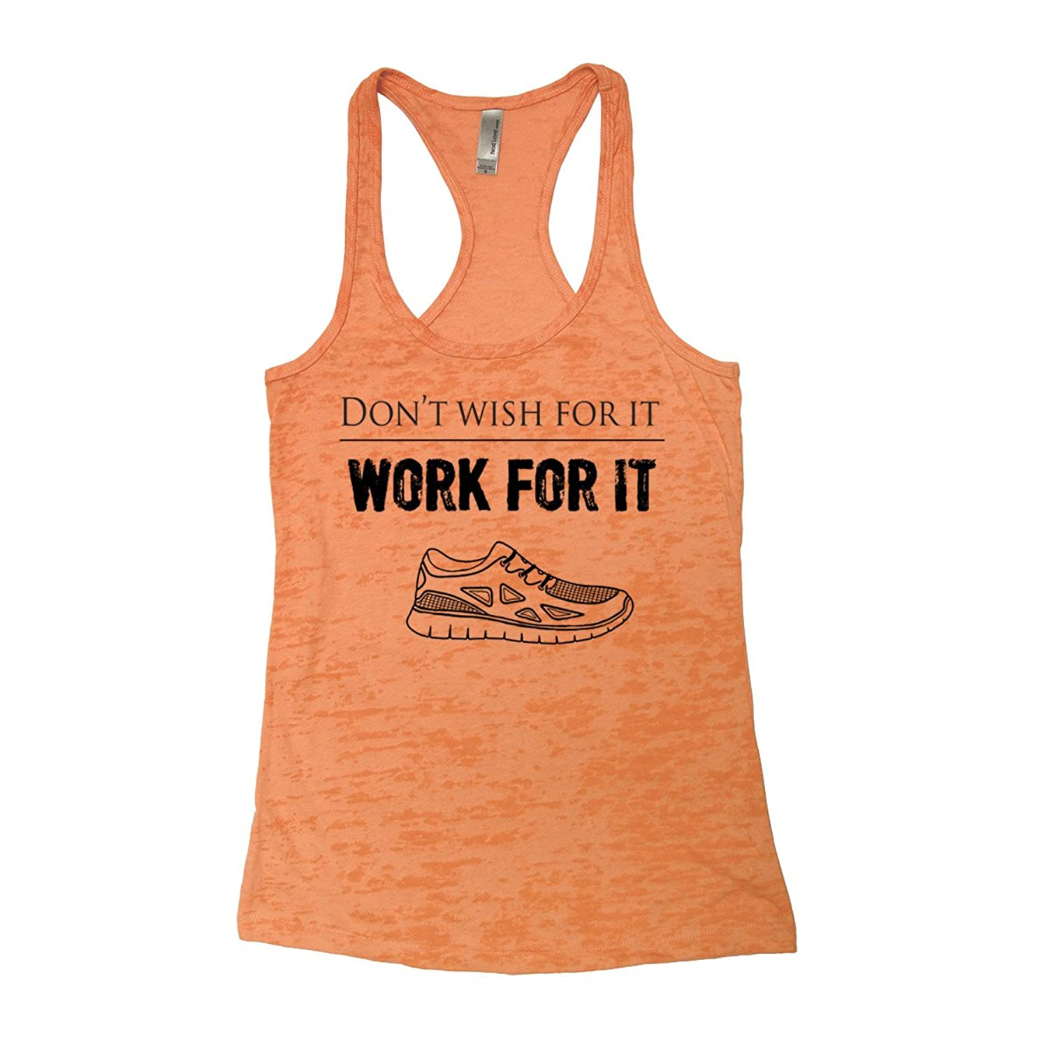 Couthclothing Women's Work for It Burnout Tank Top