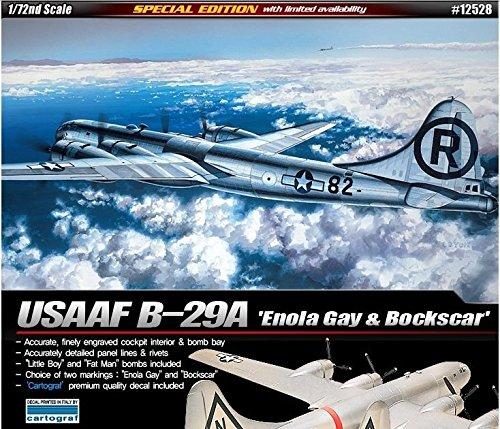(Academy 1/72 Plastic Model Kit B-29A Enola Gay & Bockscar 12528 Cartograf Decal /item#)