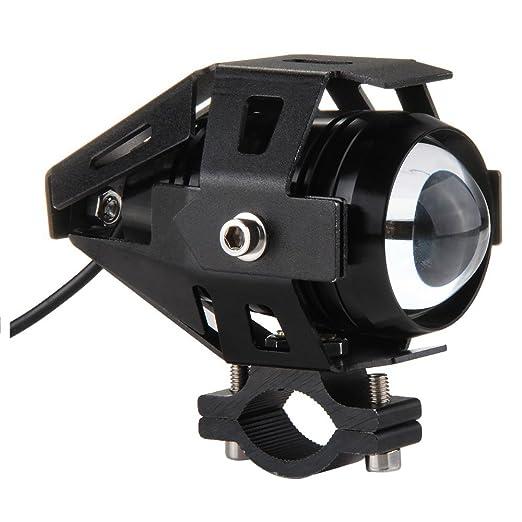 2 opinioni per TOOGOO(R)15W Lampada Faretto LED CREE XML-T6 3 Modi DC10-30V per Moto