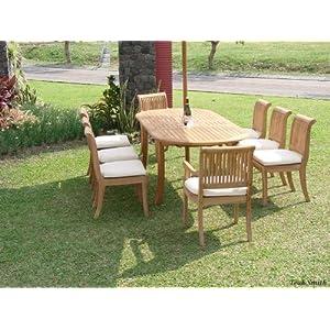 61SoKYpg94L._SS300_ Teak Dining Tables & Teak Dining Sets
