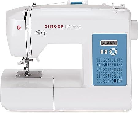 Singer Brilliance 6160 - Máquina de coser electrónica (60 funciones de costura): Amazon.es: Hogar