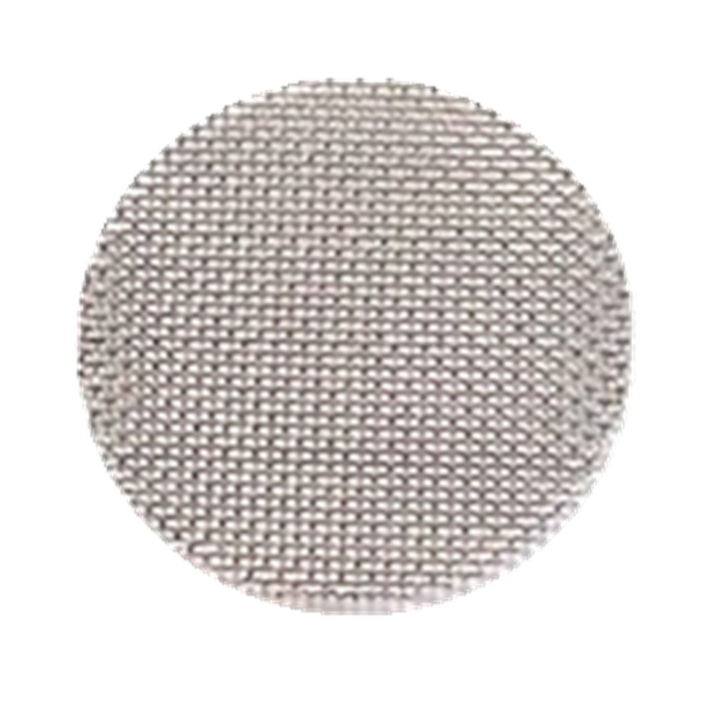 MaxFox 100Pcs Smoke Filters Net,Multifunctional Stainless Steel Combustion-supporting Mesh Hookah Water Pipe Screen Gauze (Silver)