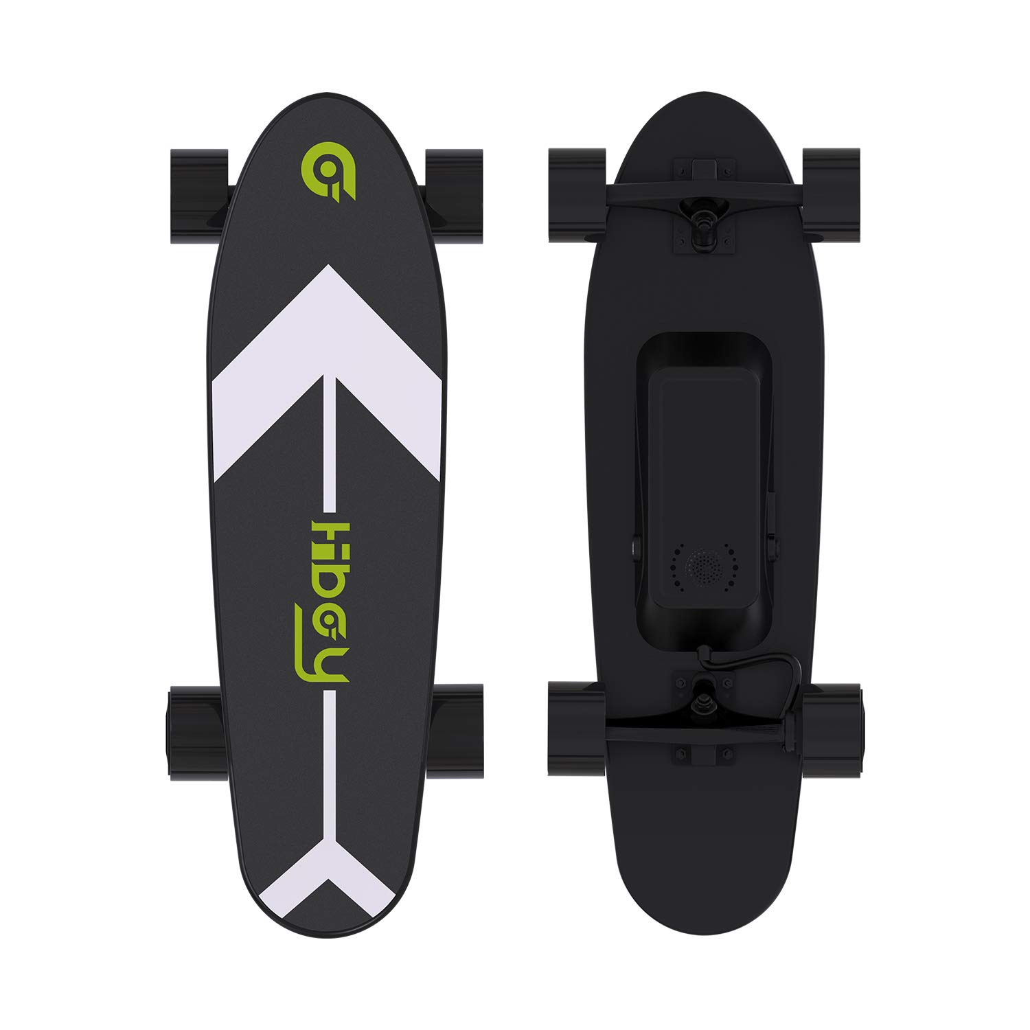 Hiboy S11 Electric Skateboard with Wireless Remote, Longboard Single Hub Motor, Light Weight 7.94LBS, Top Speed 12.4MPH, Range 6.2 Miles, for Teens and Students(Upgraded Version) by Hiboy