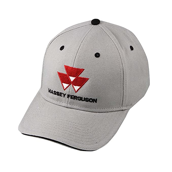 a10796e4 Image Unavailable. Image not available for. Color: Massey Ferguson  Embroidered Logo Gray Cap