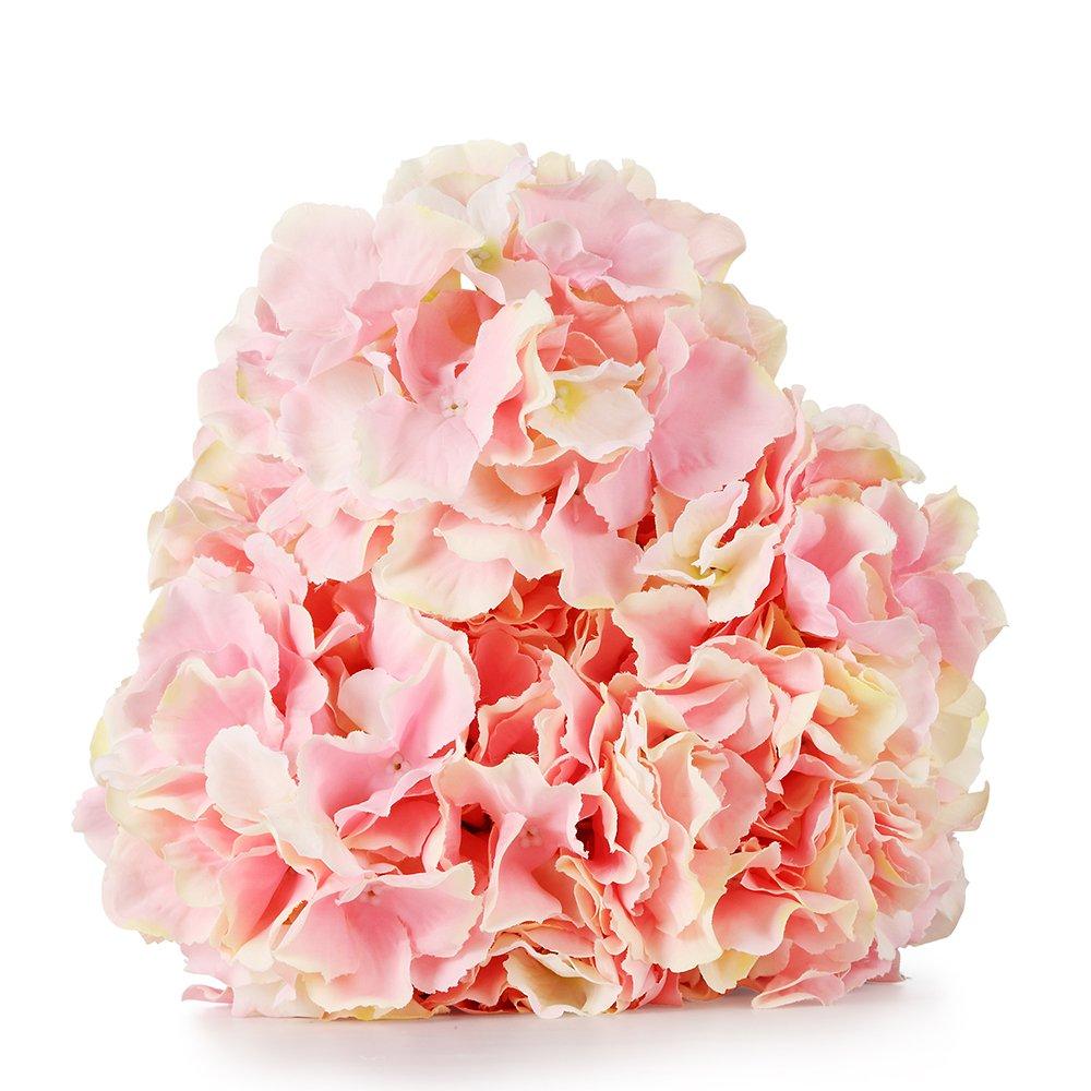 Duosuny Artificial Silk Fake 5 Heads Flower Bunch Bouquet Home Hotel