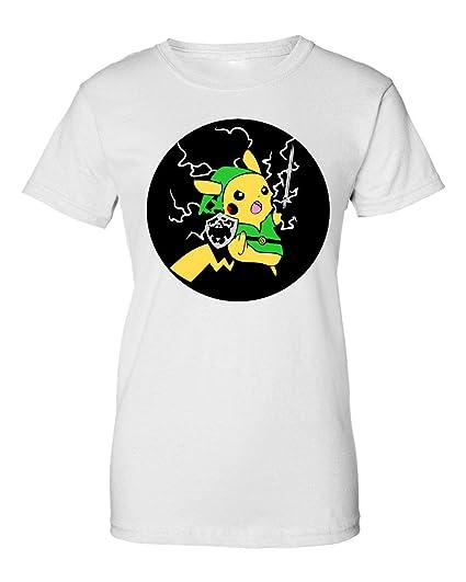 2b Pikachu Lightning Legend of Zelda Camiseta de Mujer XX ...