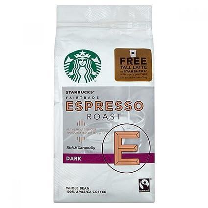 Starbucks Espresso Roast Beans Coffee Dark 250g